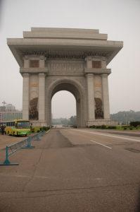 Arch of Triumph in North Korea
