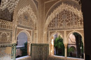 Alhambra Palace interior
