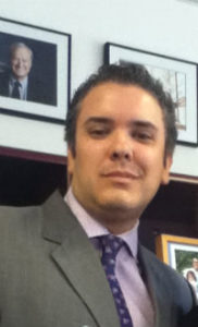 Ivan Marquez with the Inter-American Development Bank