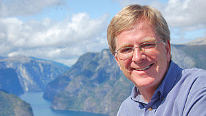 Photo of author and television host Rick Steves