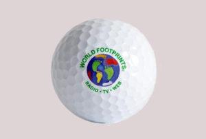 golf ball with logo