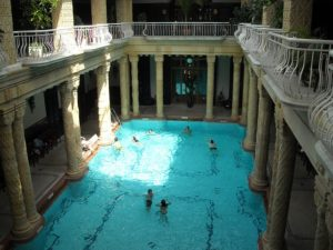 Gellert Hotel pool