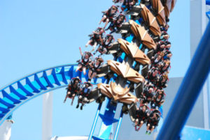 Gatekeeper roller coaster.