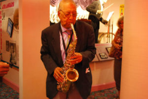 """Legendary jazz artist Frank """"Doc"""" Adams shared his gift of music with us just a month before his passing. Photo: Tonya Fitzpatrick"""