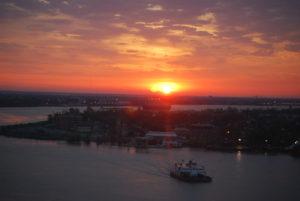 New Orelans sunset photo by Ian Fitzpatrick