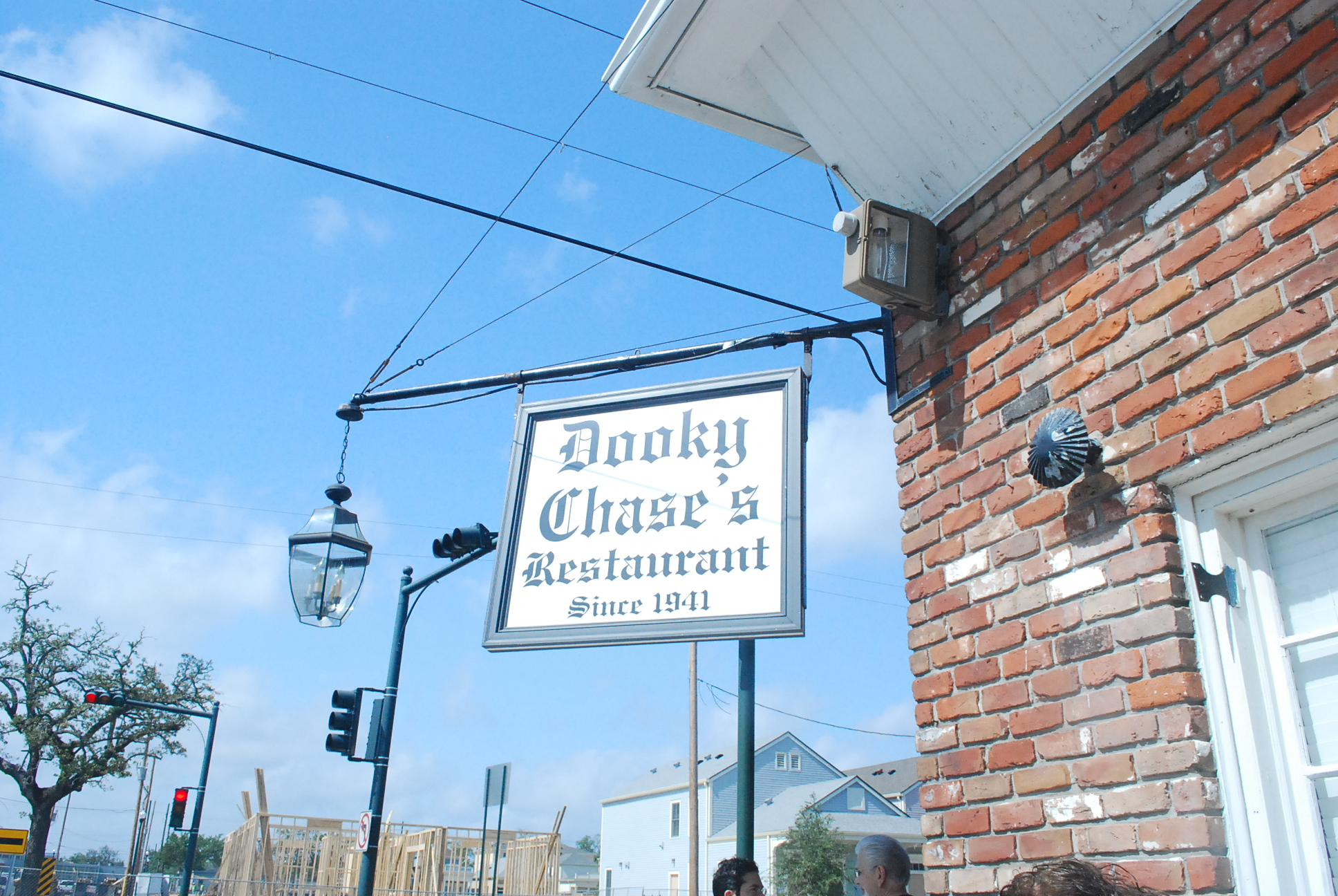 Exterior of Dooky Chase restaurant in New Orleans. PHoto: Tonya Fitzpatrick
