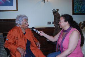 Tonya interviews Chef Leah Chase