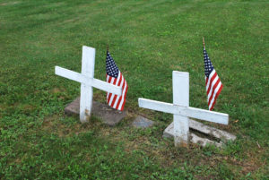Unmarked Graves on Yellow Hill.jpg photo by Tonya Fitzpatrick