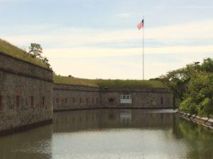 Fort Monroe in Virginia.  Photo:  Tonya Fitzpatrick