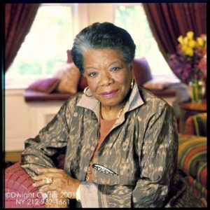 The late Dr. Maya Angelou
