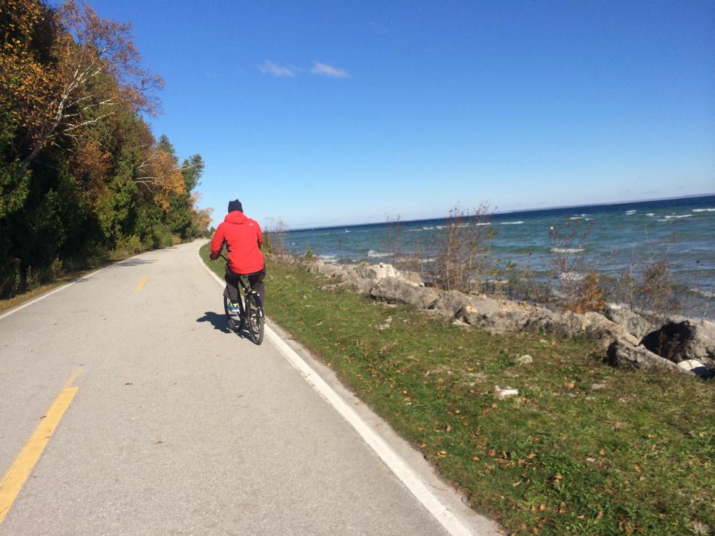 Bicycle Travel around Mackinac Island. Photo: Tonya Fitzpatrick