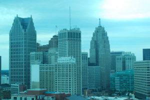 Detroit skyline. Photo: Tonya Fitzpatrick