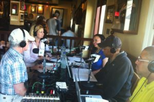 French Quarter Fest in New Orleans.Live Broadcast