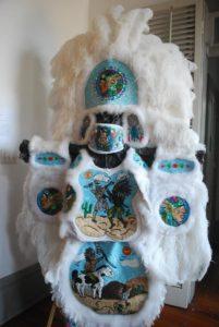 Mardi-Gras-Indian-costume. Photo: Tonya Fitzpatrick