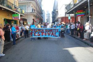 Beginning of FQF parade. Photo: Tonya Fitzpatrick