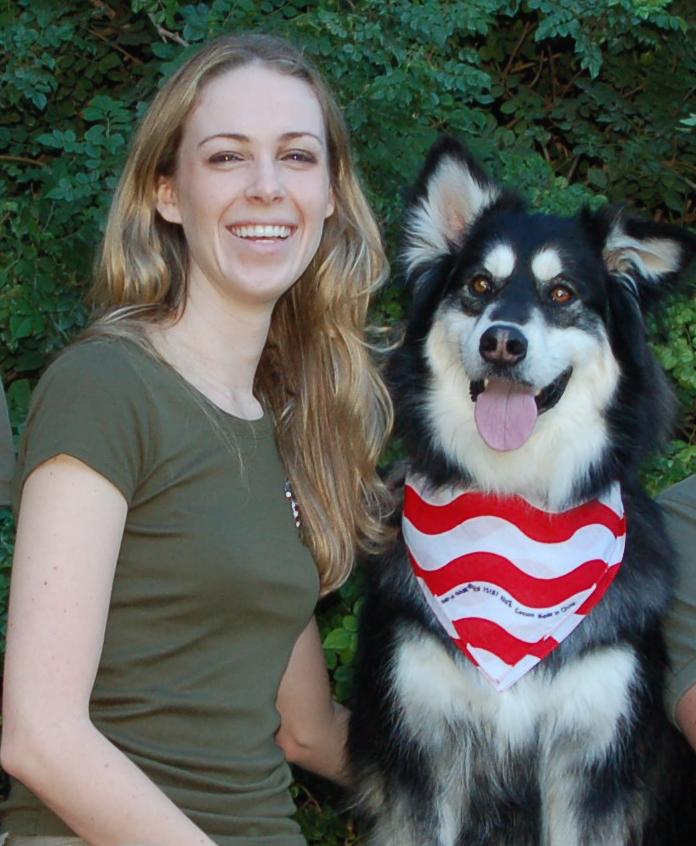 Animal trainer Clarissa Black