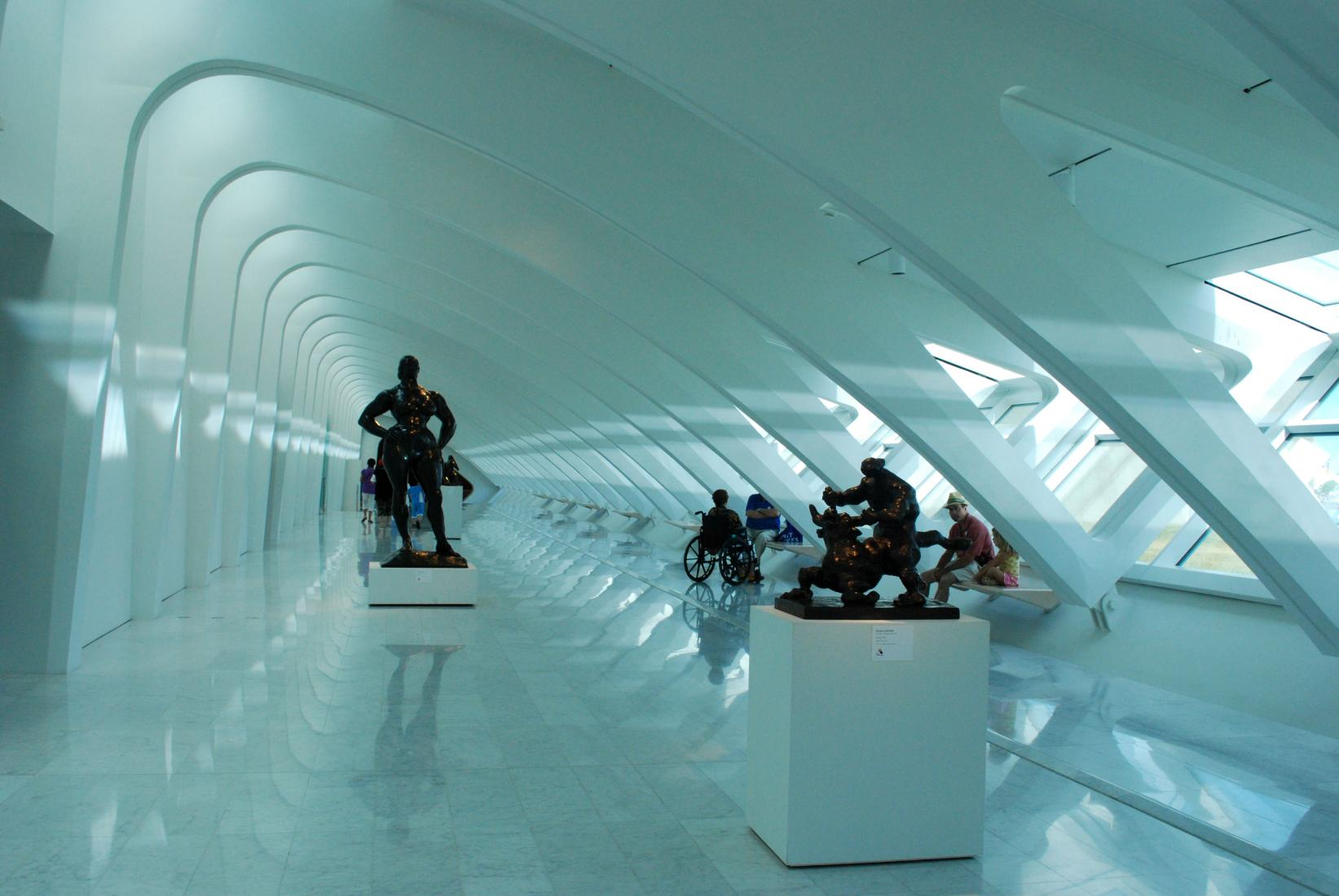 Inside the St. Louis Art Museum.  Photo:  Tonya Fitzpatrick