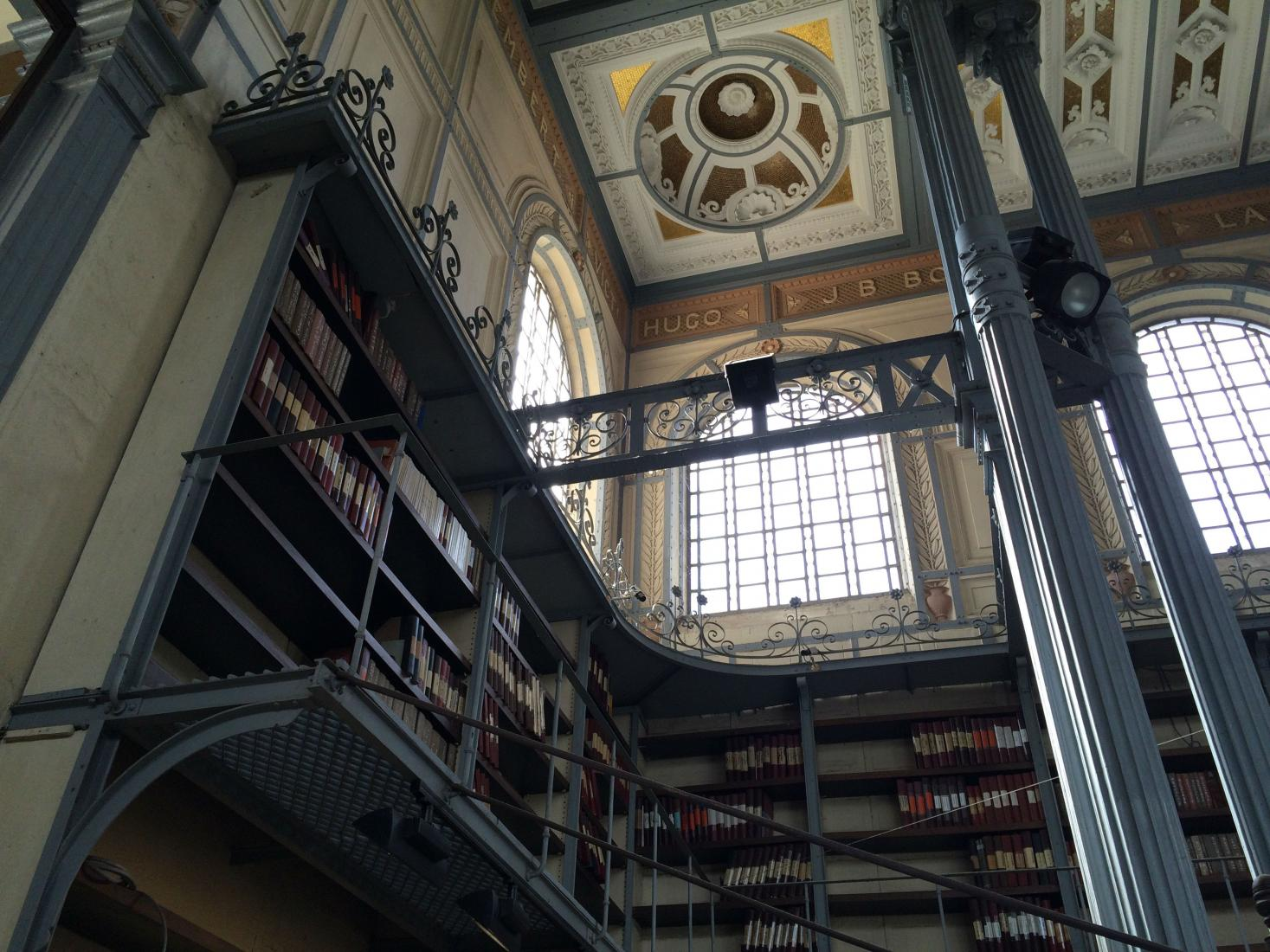 Historic library on Martinique was part of the World Fair in Paris.  Photo:  Tonya Fitzpatrick