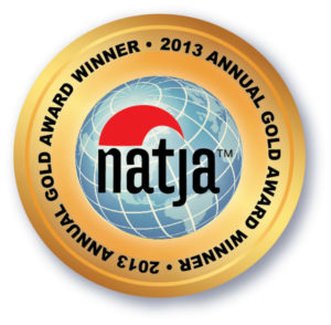 NATJA Award seal