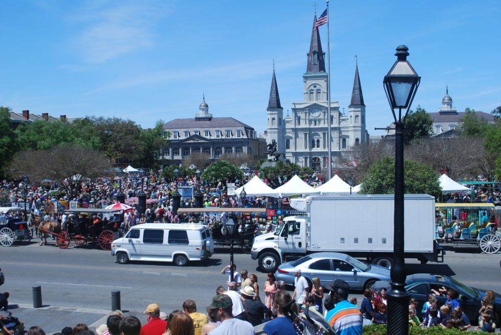 New Orleans Jackson Square.  Photo:  Tonya Fitzpatrick