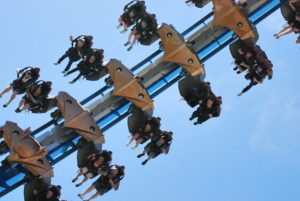 Rollercoaster.Gateway.CedarPoint. Photo: Tonya Fitzpatrick