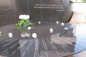 Civil Rights memorial.  Photo:  stretchy Bill