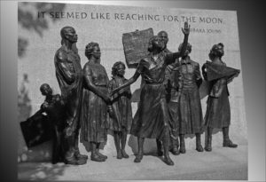 Civil Rights memorial.  PHoto:  Ron Cogswell