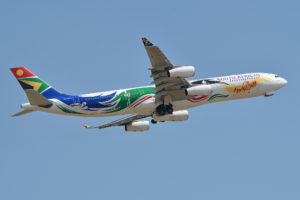 South African Airways photo by Alan Wilson