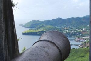 Fort Charlotte overlooking Kingstown, St. Vincent.  Photo:  Tonya Fitzpatrick