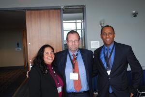 Tonya and Ian with CBS Travel Editor, Peter Greenberg