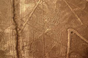 Nazca line in Peru