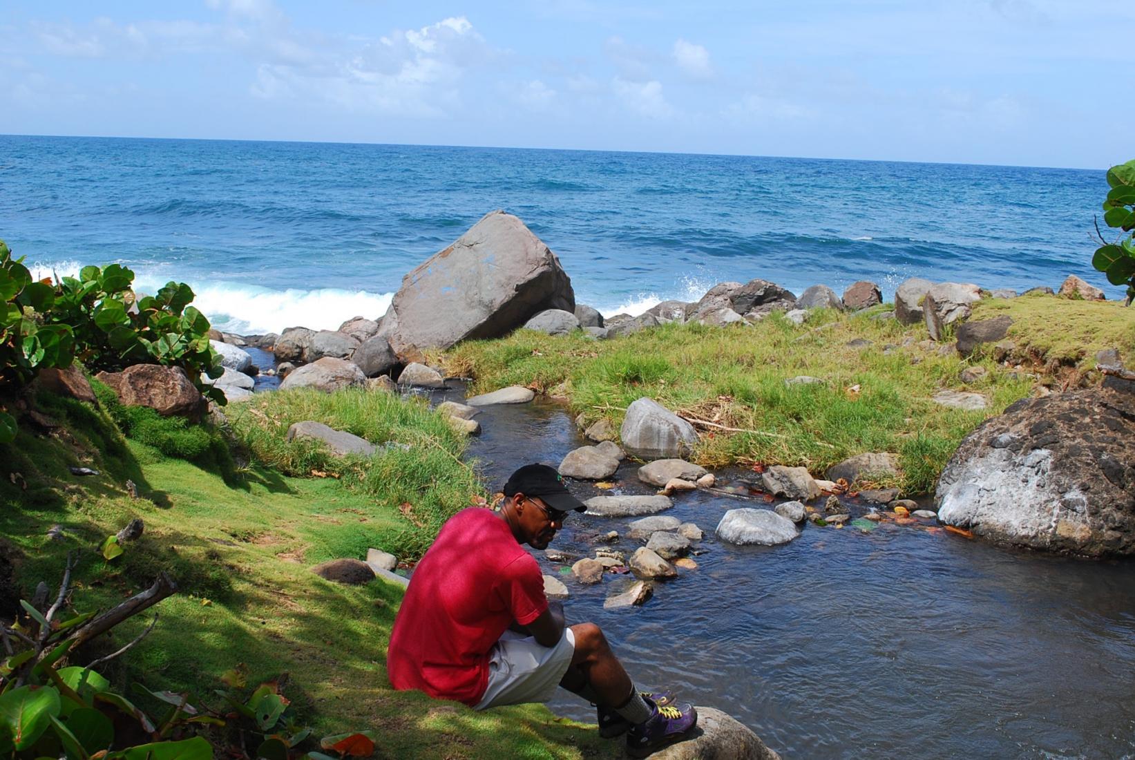 Hiking Dominica's national trail. Photo: Tonya Fitzpatrick