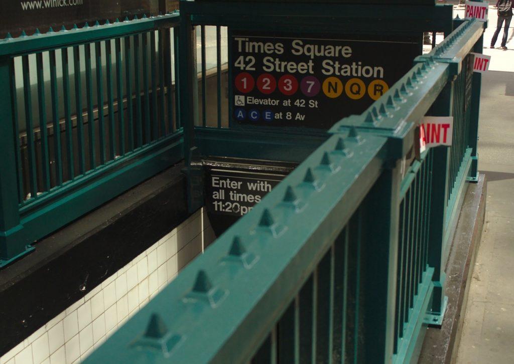 New York Times Square subway
