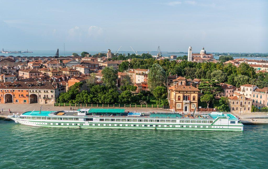 River cruise in Venice, Italy