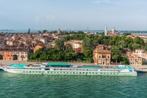 River cruise in Venice, Italy
