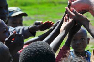 Helping hands in Haiti
