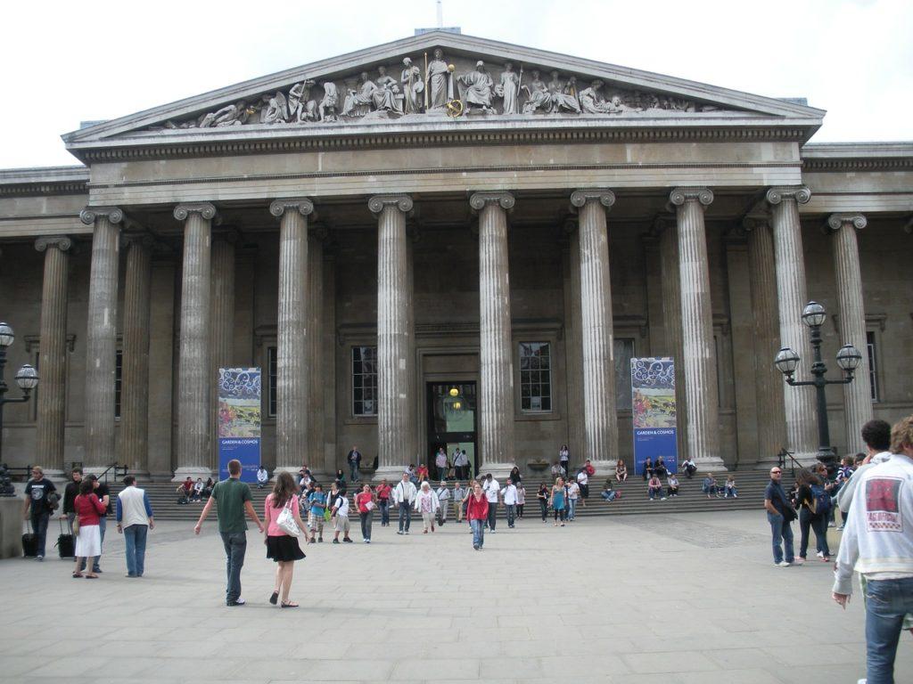 British Museum in London, England