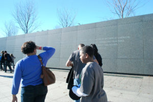 The Inscription Wall at the Martin Luther King, Jr. Memorial. Photo: Tonya Fitzpatrick