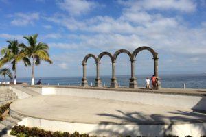 Arches in Puerto Vallarta. Photo: Tonya Fitzpatrick