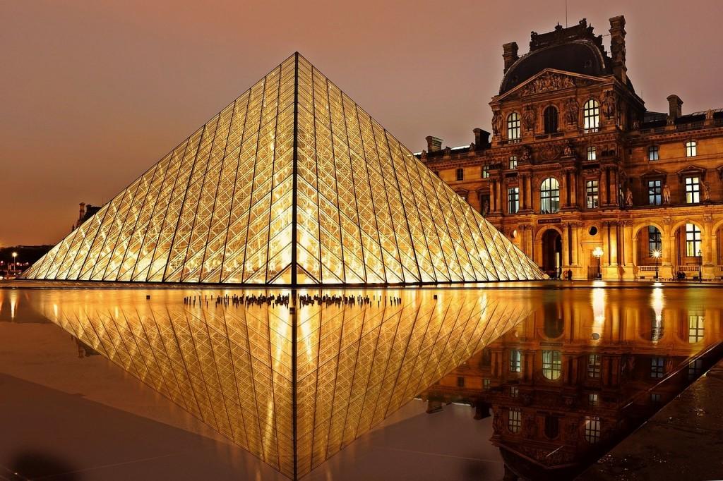 Paris at the Louvre