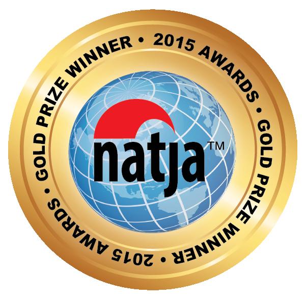 2015 NATJA Gold award