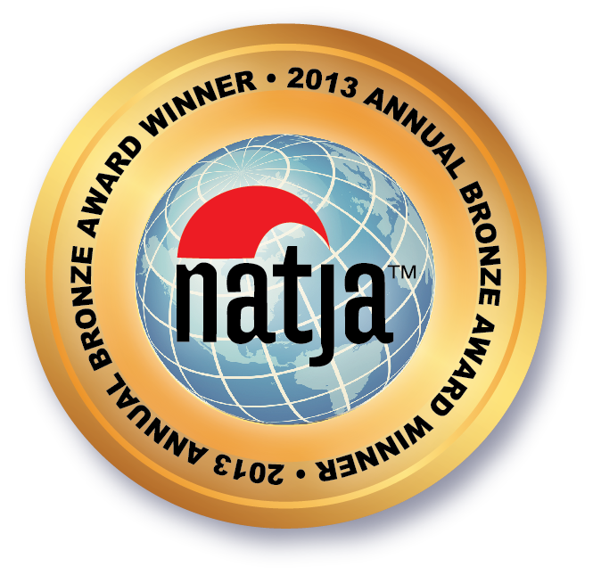 NATJA Bronze Award Seal