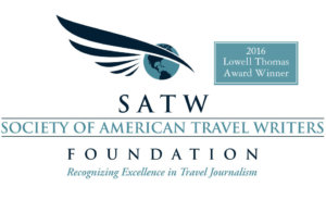 """Lowell Thomas Award presented to World Footprints for """"In the Footsteps of Birmingham's Civil Rights Movement""""."""