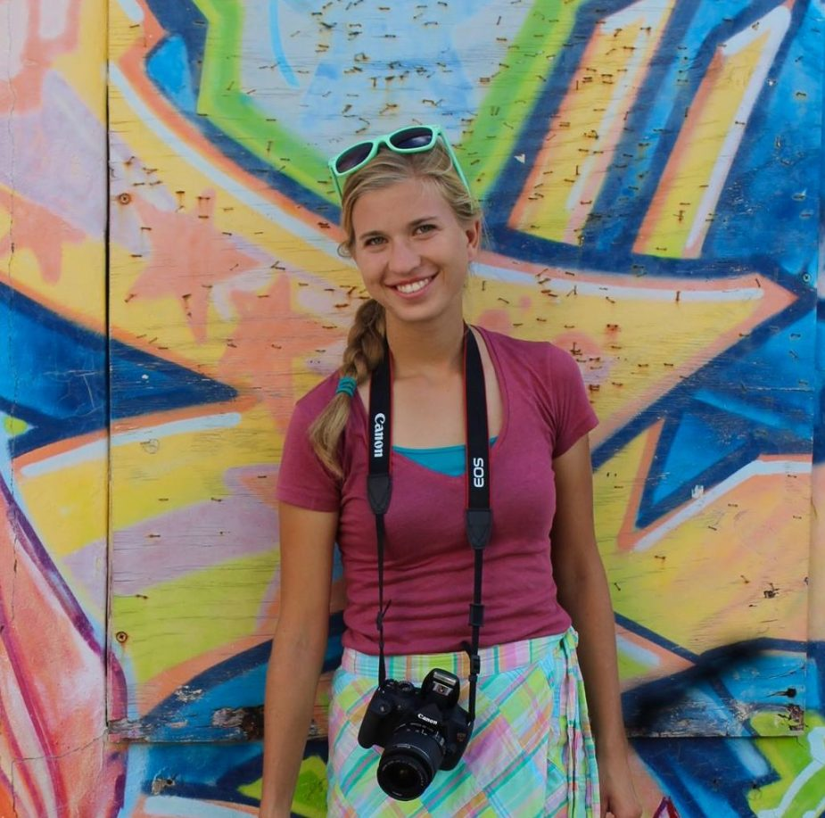 World Footprints author Breana Johnson