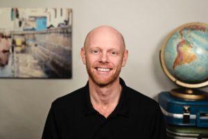 Travel writer Derek Cullen
