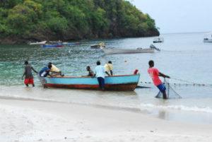 Fishermen on St. Vincent. Photo: Tonya Fitzpatrick