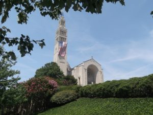 Basilica in Washington, DC photo by Tonya Fitzpatrick