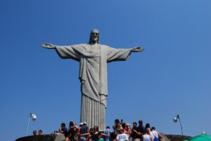 Christ the Redeemer in Rio de Janeiro. Photo by Tonya Fitzpatrick, World Footprints