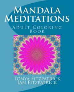 Mandala Meditations adult coloring book