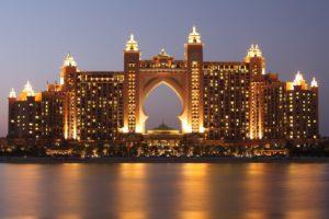 Luxury hotel The Palm in Dubai